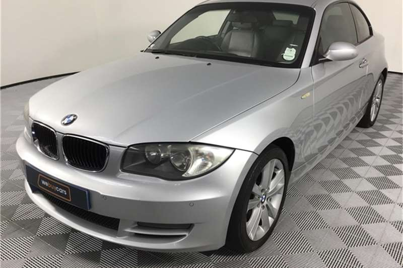BMW 1 Series 120d coupé 2008