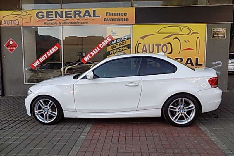 BMW 1 Series 120d coupé 2012