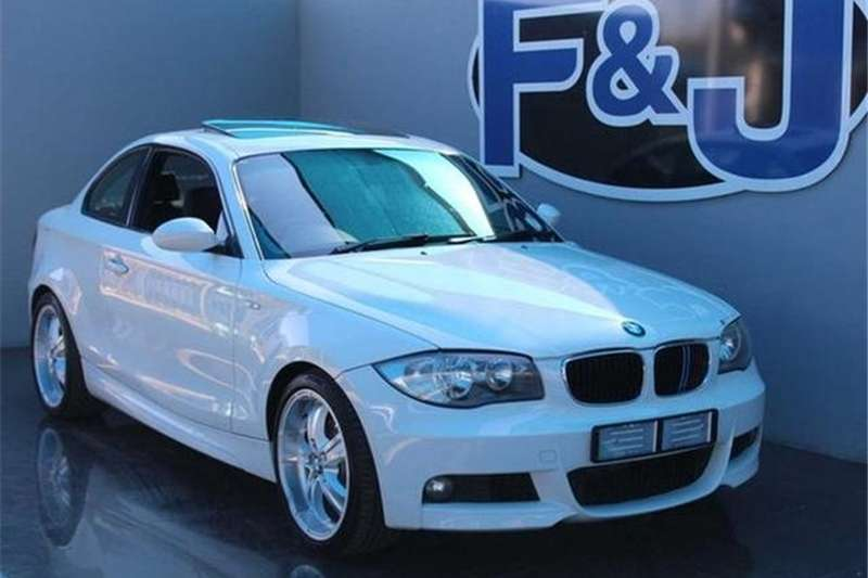 BMW 1 Series 120d coupé M Sport 2009