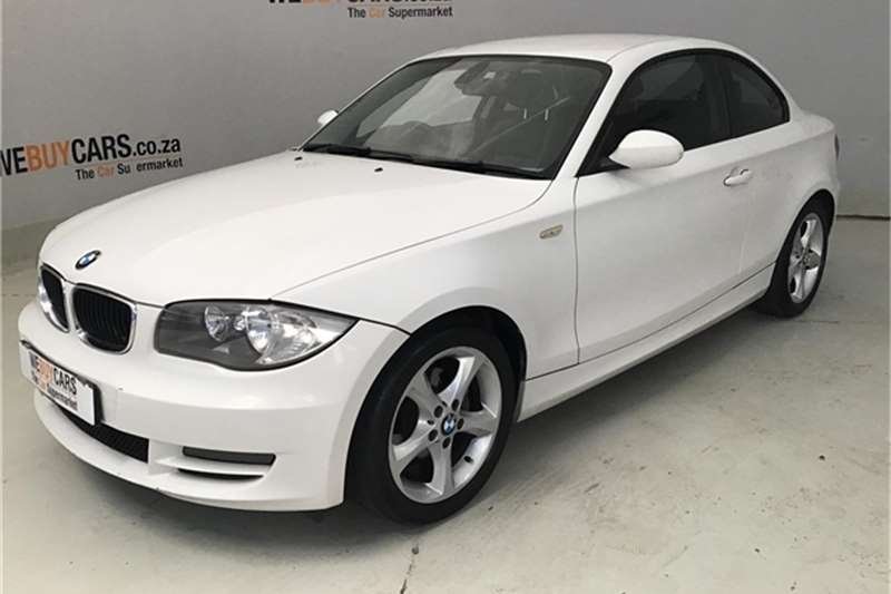 BMW 1 Series 120d coupé steptronic 2009