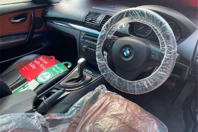 BMW 1 Series 120d coupé steptronic 2010