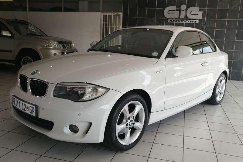 BMW 1 Series 120d coupé steptronic 2012