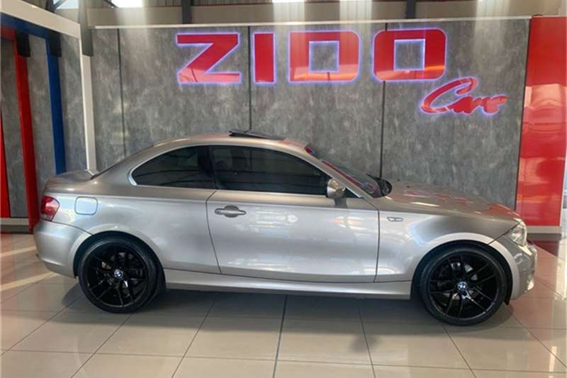 Used 2012 BMW 1 Series 120d coupé steptronic