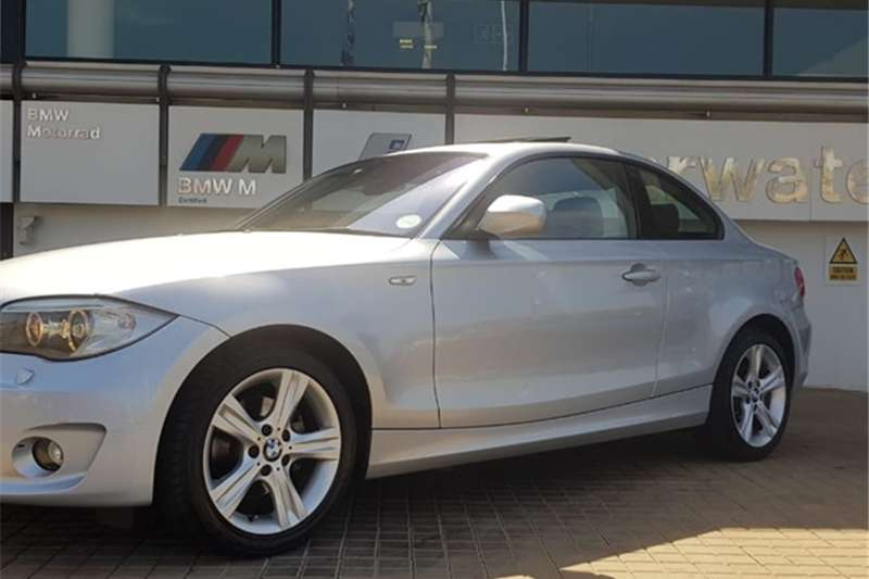 BMW 1 Series 120d coupé steptronic 2013