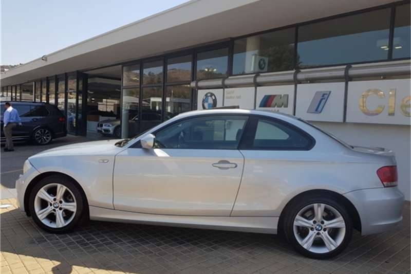 BMW 1 Series 120d coupé steptronic 2013