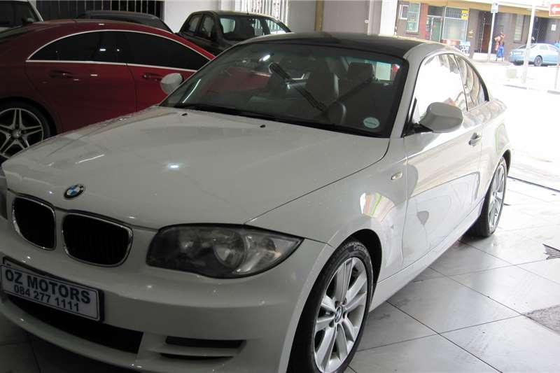 BMW 1 Series 120d coupe auto 2011