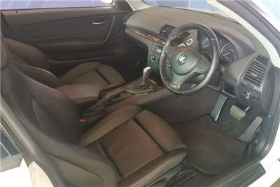 BMW 1 Series 120d coupe Exclusive auto 2012