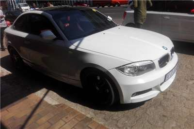 BMW 1 Series 120d coupe Exclusive auto 2013
