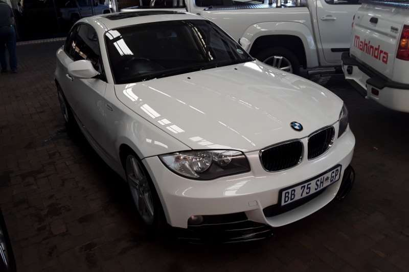 BMW 1 Series 120d coupe M Sport auto 2011