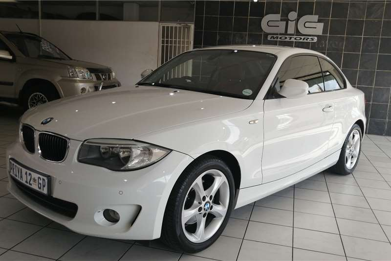 BMW 1 Series 120d Coupe Streptronic 2012