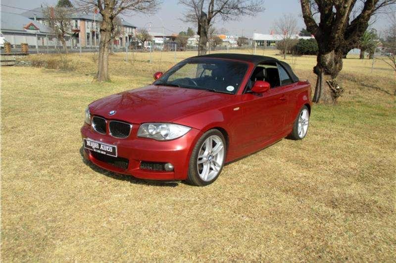BMW 1 Series 120i 3 door M Sport Cabrio 2012