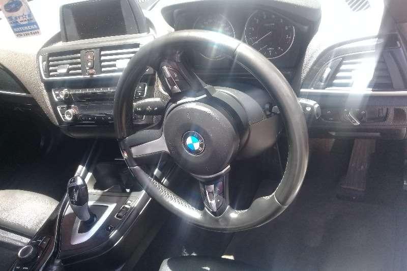 BMW 1 Series 120i 5 door auto 2016