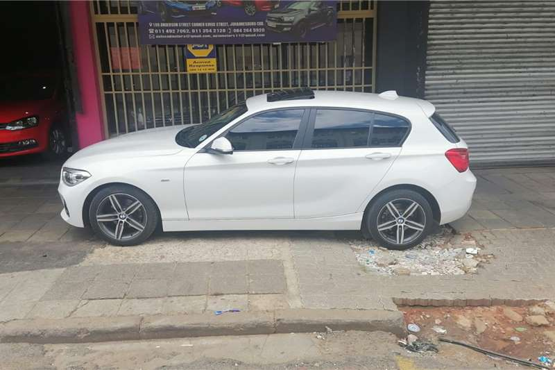 BMW 1 Series 120i 5 door M Sport auto 2017