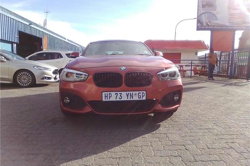 BMW 1 Series 120i 5 door M Sport sports auto 2018