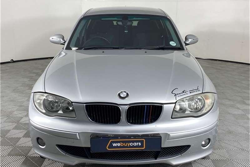 2004 BMW 1 Series 120i 5-door Sport