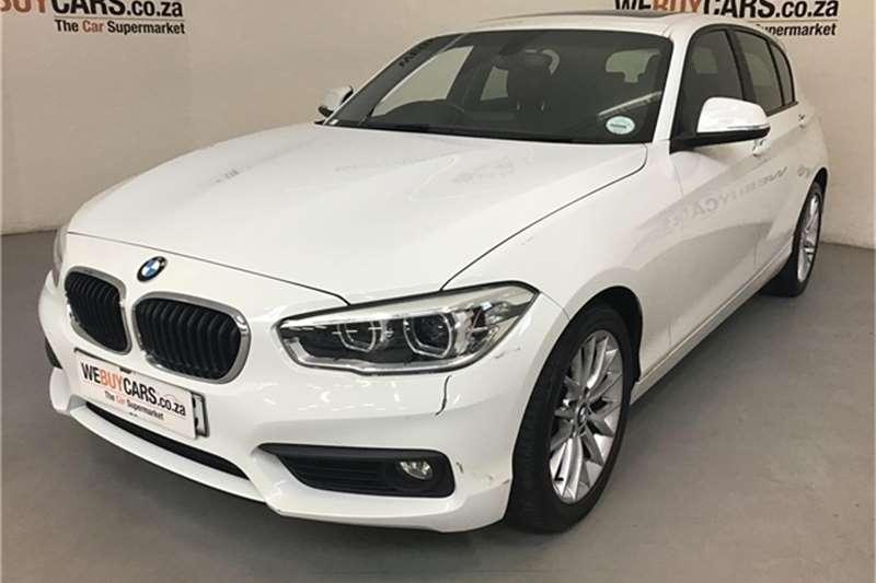 BMW 1 Series 120i 5 door Sport auto 2015
