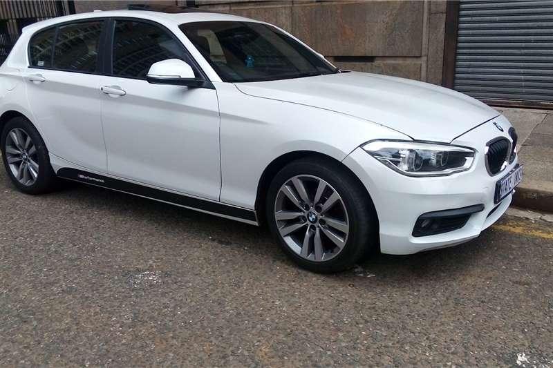 Used 2017 BMW 1 Series 120i 5 door sports auto