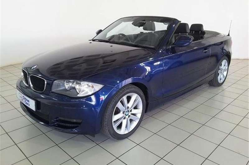 BMW 1 Series 120i convertible 2010