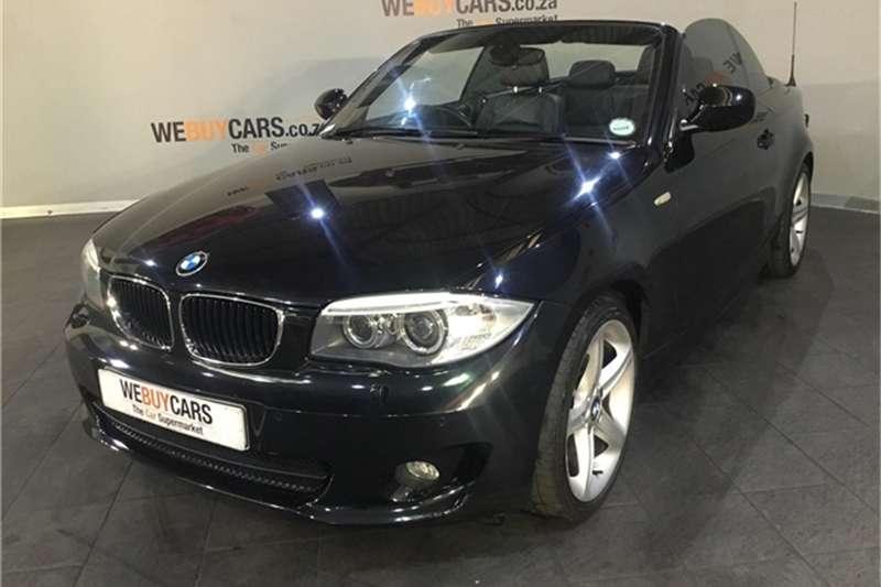 BMW 1 Series 120i convertible 2011