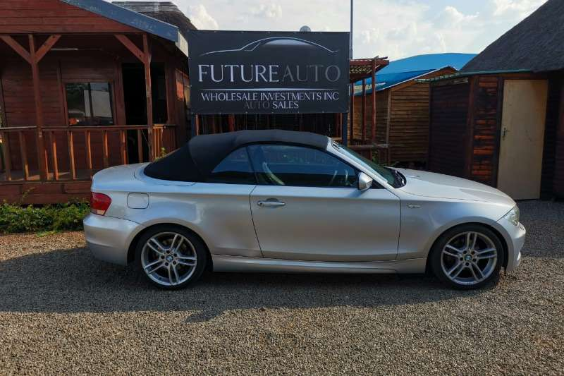 BMW 1 Series 120i convertible auto 2012
