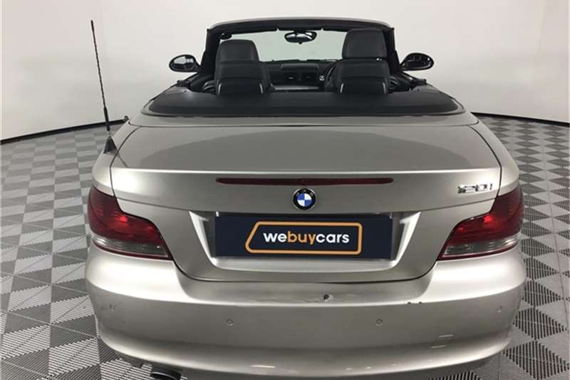 BMW 1 Series 120i convertible steptronic 2009