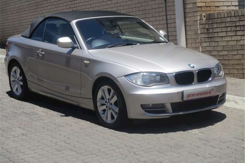BMW 1 Series 120i convertible steptronic 2010