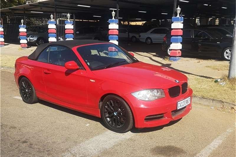 BMW 1 Series 120i convertible steptronic 2011