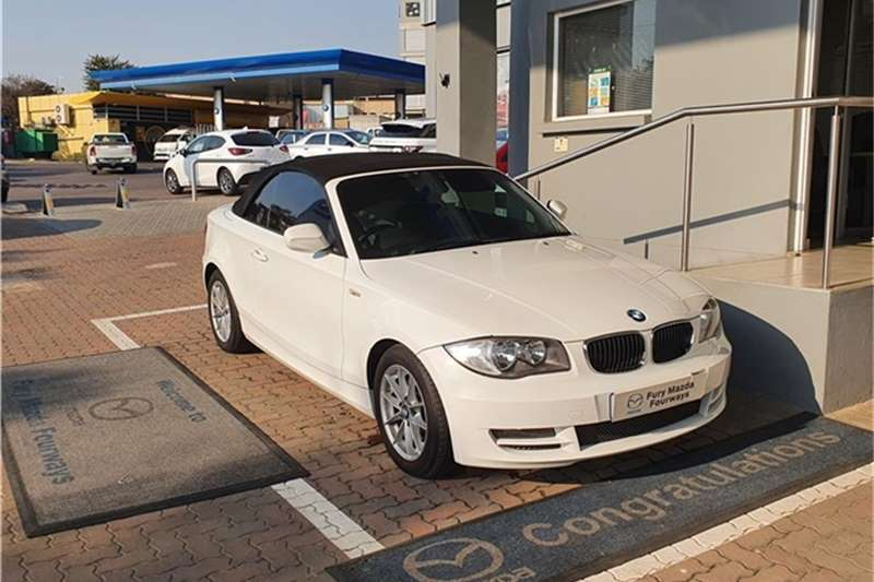 BMW 1 Series 120i convertible steptronic 2011