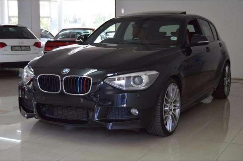 BMW 1 Series 125i 5 door M Sport sports auto 2012