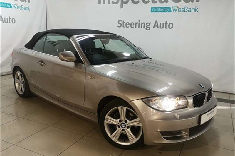 BMW 1 Series 125I CONVERTIBLE 2010