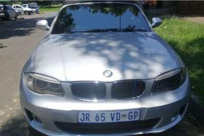 BMW 1 Series 125i convertible auto 2011