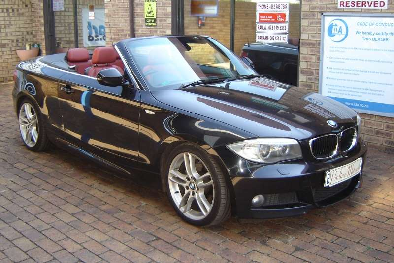 BMW 1 Series 125i convertible M Sport auto 2011