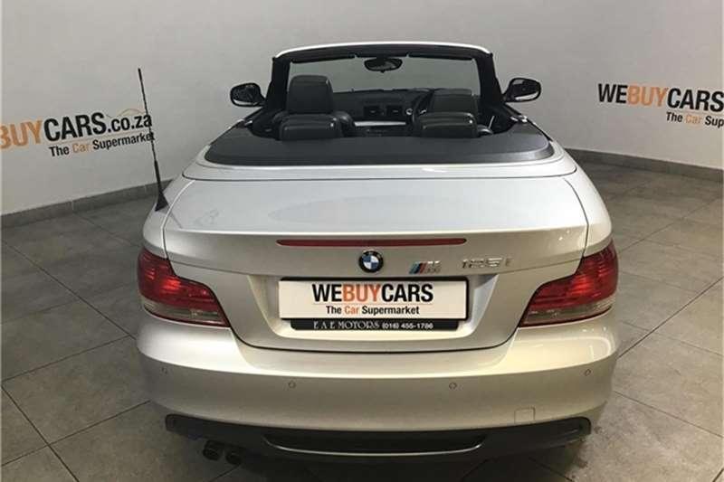 BMW 1 Series 125i convertible M Sport steptronic 2011