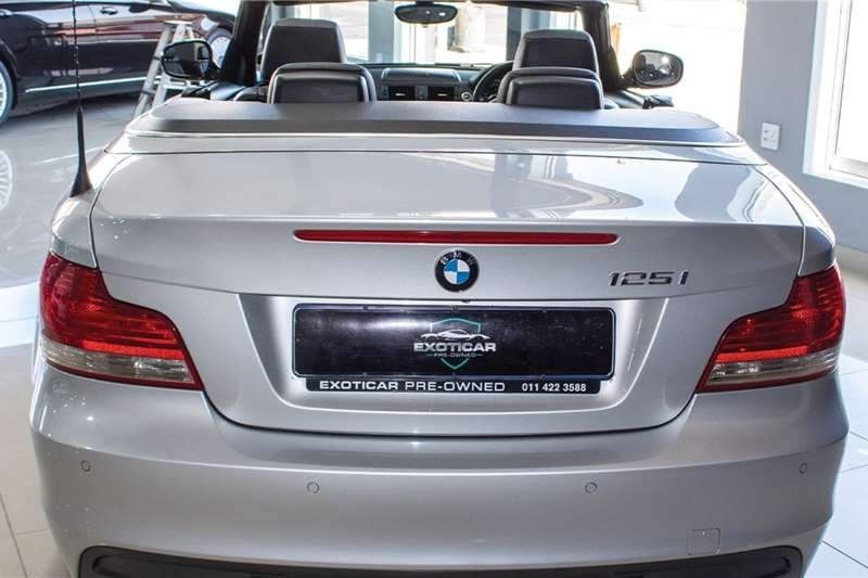 Used 2011 BMW 1 Series 125i convertible M Sport steptronic