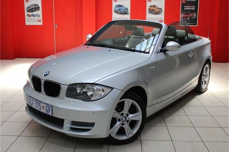 BMW 1 Series 125i convertible steptronic 2008