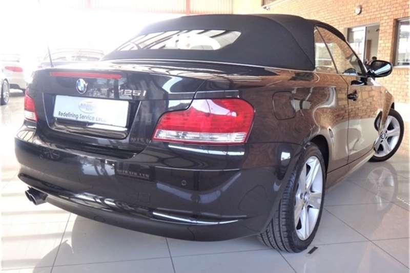 BMW 1 Series 125i convertible steptronic 2010