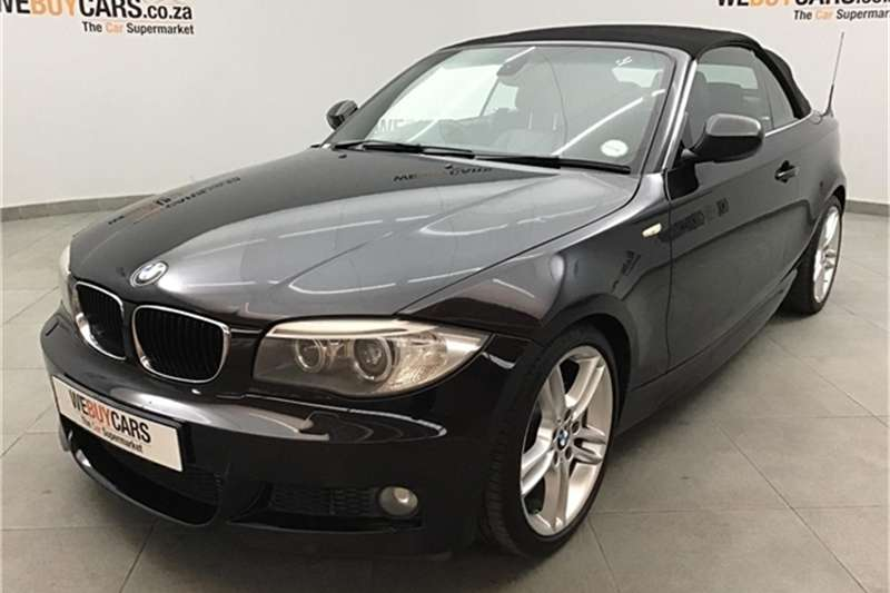 BMW 1 Series 125i convertible steptronic 2012
