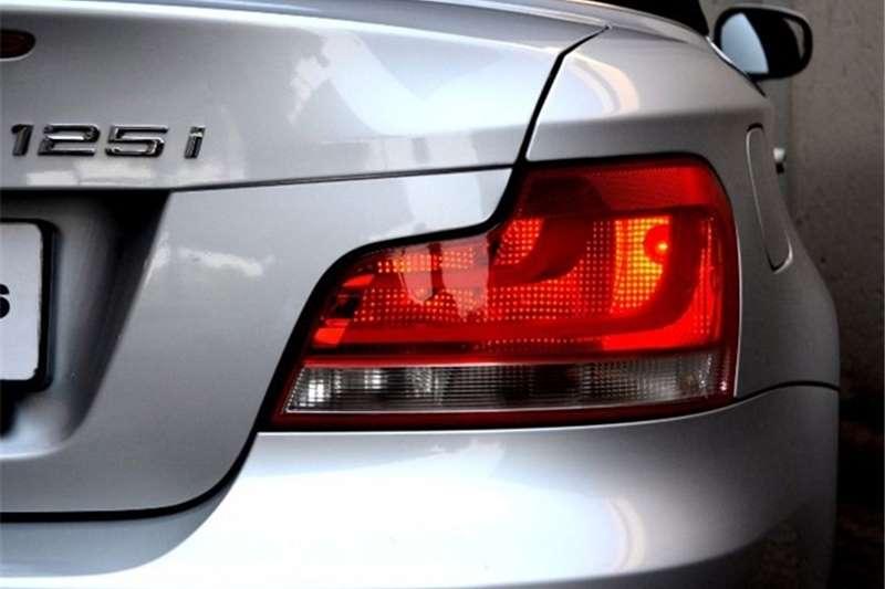 BMW 1 Series 125i convertible steptronic 2012