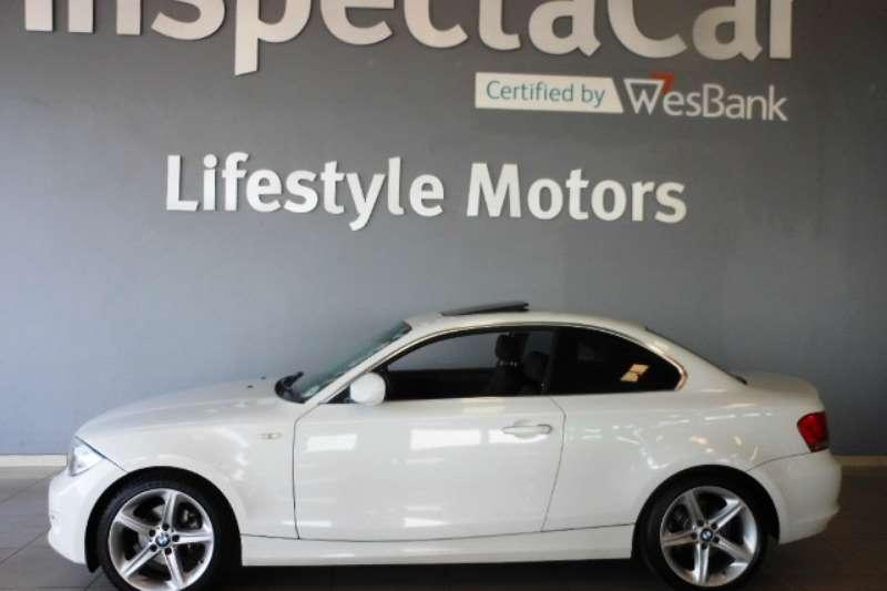 BMW 1 Series 125i coupé Exclusive steptronic 2012