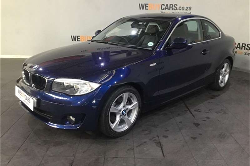 BMW 1 Series 125i coupé steptronic 2013