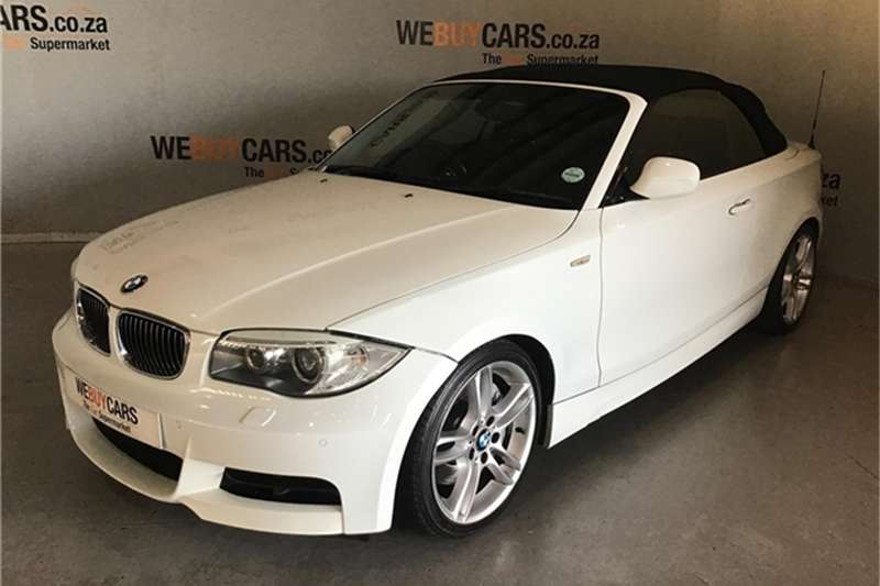 BMW 1 Series 135i convertible steptronic 2012