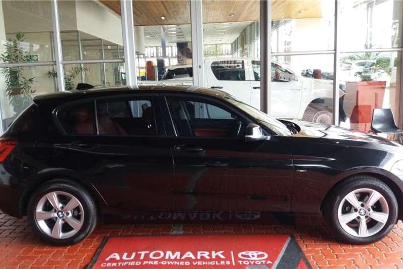 BMW 1 Series 5-door 118i M SPORT A/T (F40) 2015