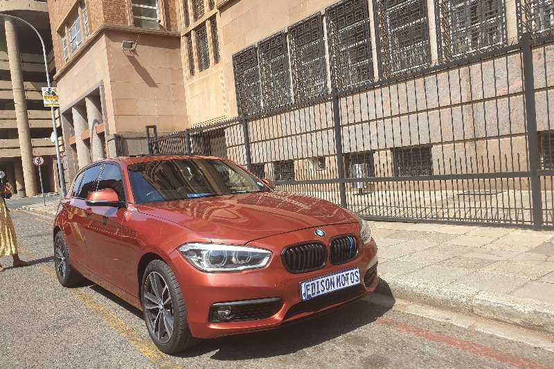 BMW 1 Series 5-door 118i M SPORT A/T (F40) 2018