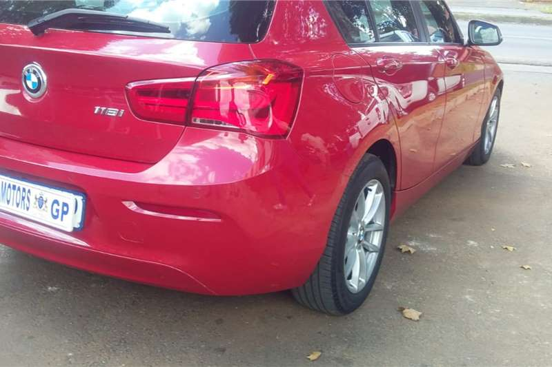 Used 2018 BMW 1 Series 5-door 118i SPORTLINE A/T (F40)