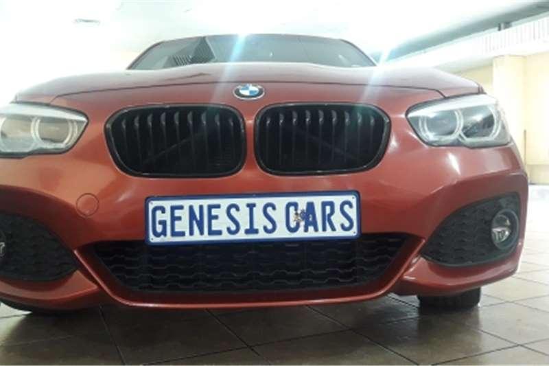 BMW 1 Series 5-door BMW 120i 1series 5 door auto motorsport orange col 2018