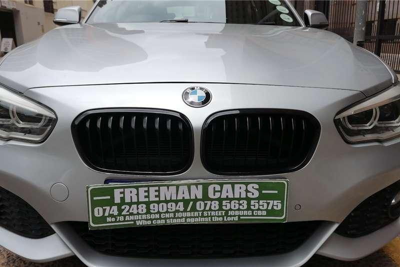 2015 BMW 1 Series 5-door 118i A/T (F40)