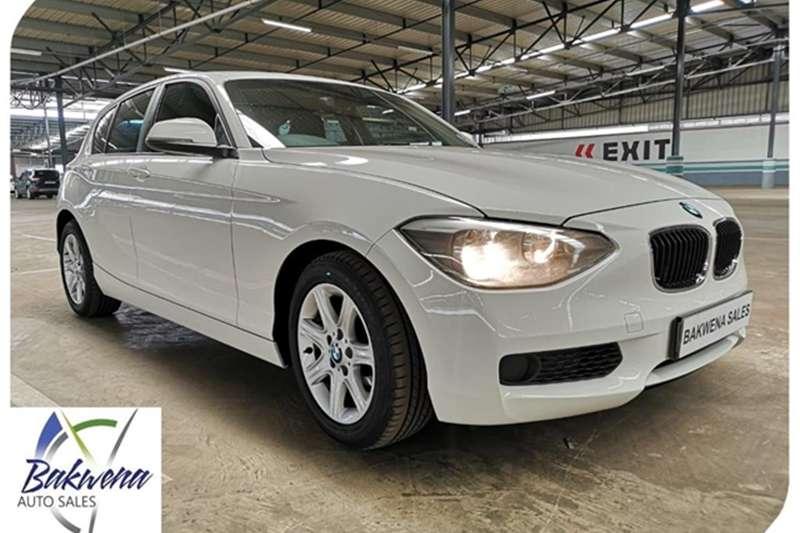 BMW 1 Series 5DR A/T (F20) 2011