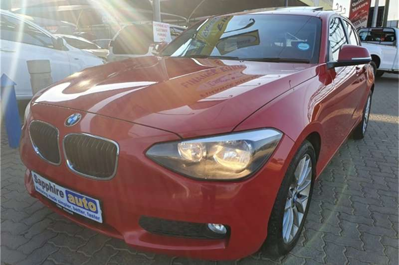 BMW 1 Series 5DR A/T (F20) 2014