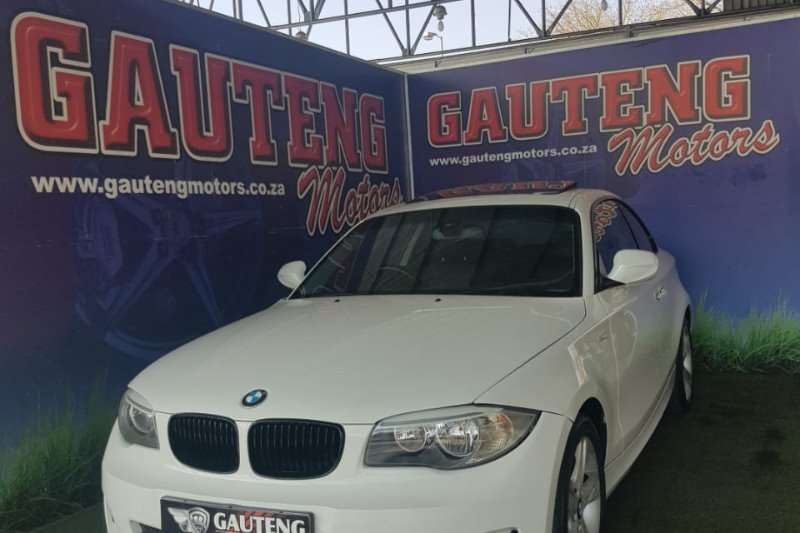 2011 BMW 1 Series 120d coupe Exclusive auto