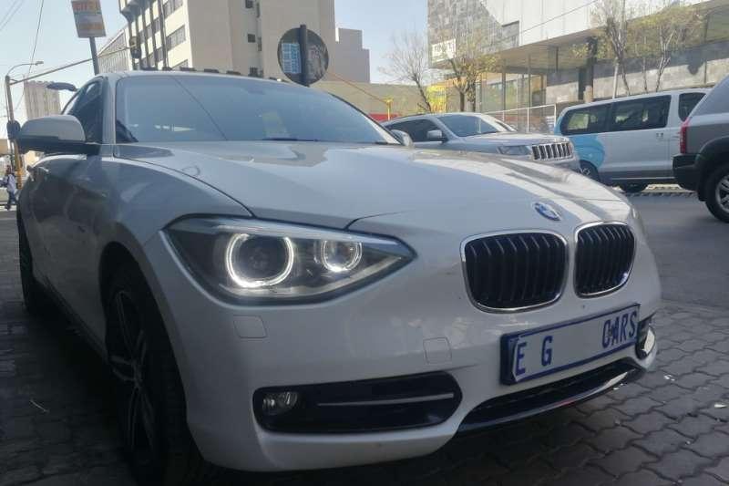 2014 BMW 1 Series 120d 5 door Sport Line auto